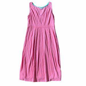 Boden Sleeveless Midi V-neck Dress Size 6L